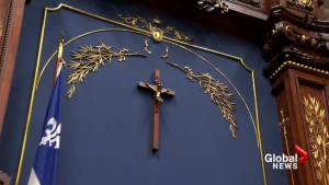 Will Quebec follow Montreal's lead in taking down crucifixes?